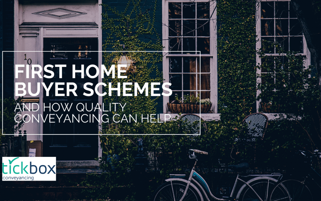 First Home Owner Schemes