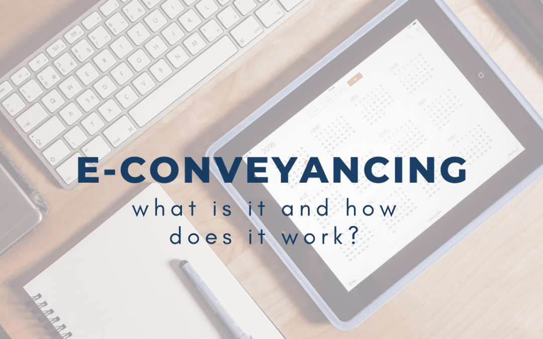 Electronic Conveyancing: How Does It Work?