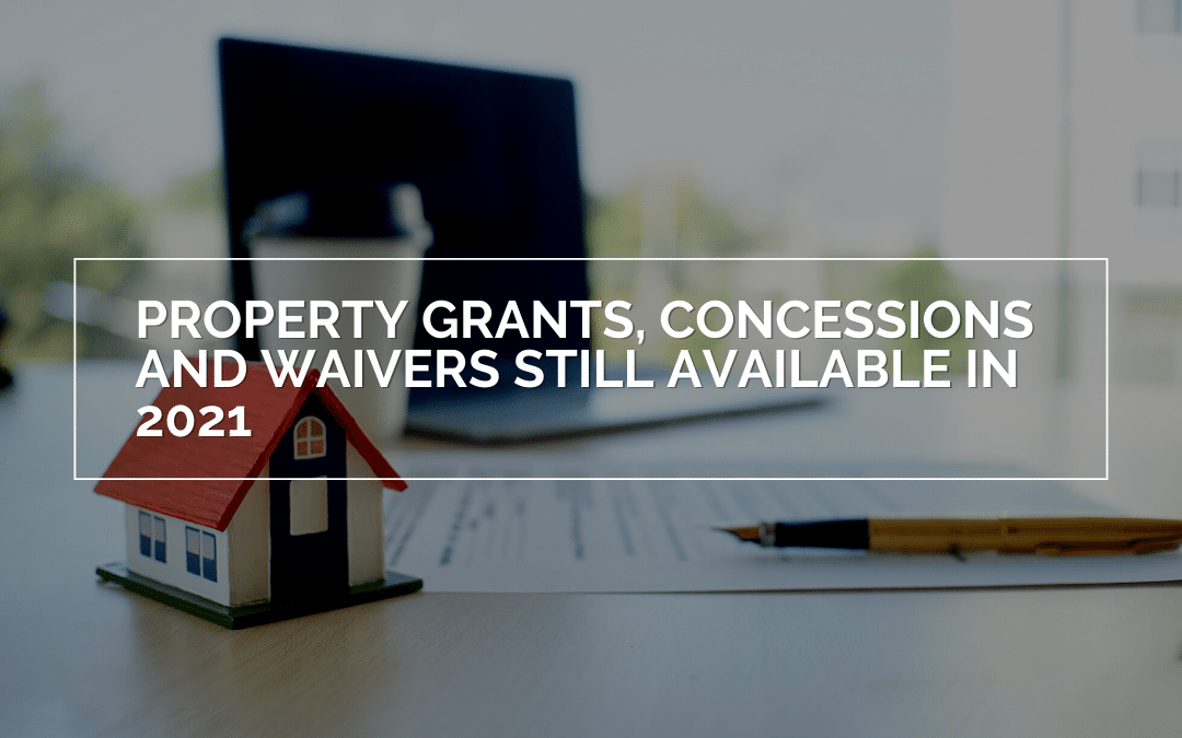Property Grants, Concessions and Waivers Still Available In Victoria in 2021